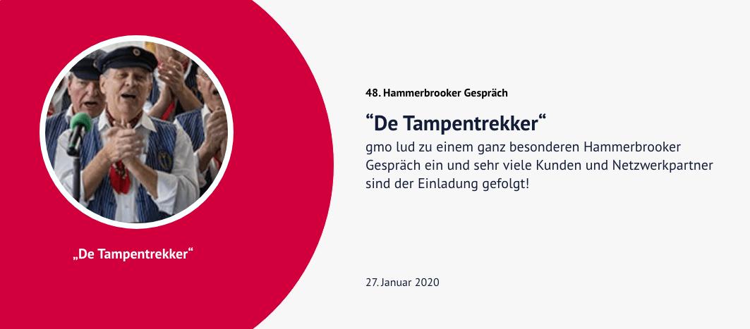 48. Hammerbrooker Gespräch – De Tampentrekker
