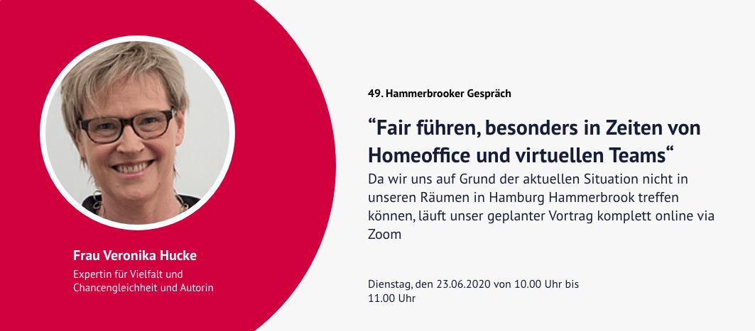 49. Hammerbrooker Gespräch – Veronika Hucke