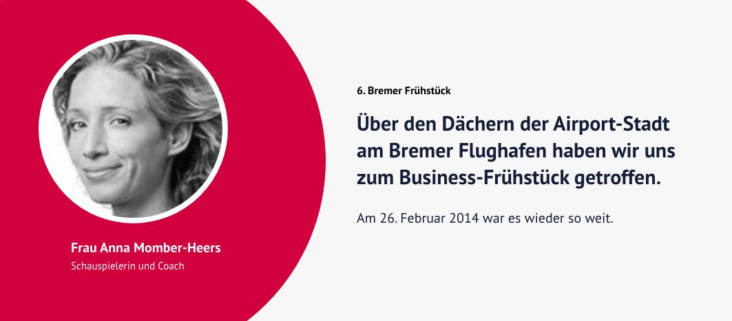 6. Bremer Frühstück – Anna Momber-Heers