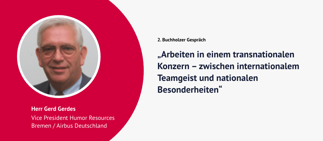 2. Buchholzer Gespräch – Gerd Gerdes