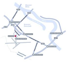 Karte gmo Bremen